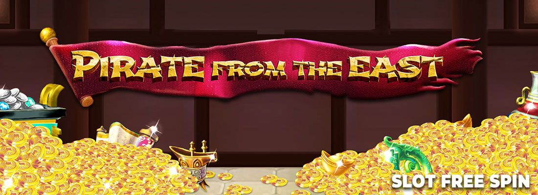 pirates from the east slot game banner