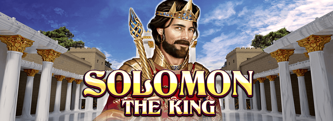 solomon the king slot game banner