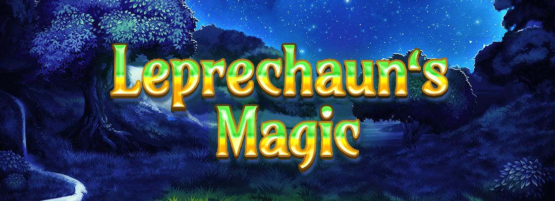 leprechauns magic slot game banner