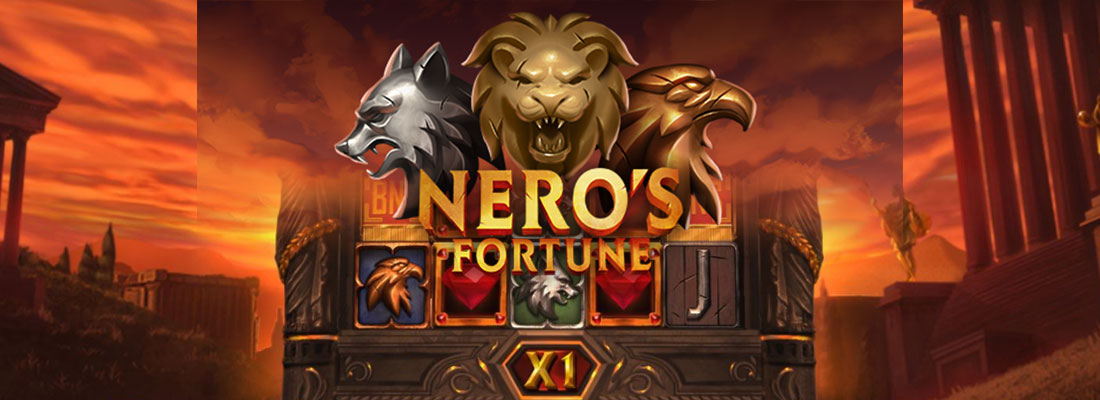 neros fortune slot game banner