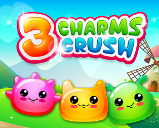 3 charms crush slot game