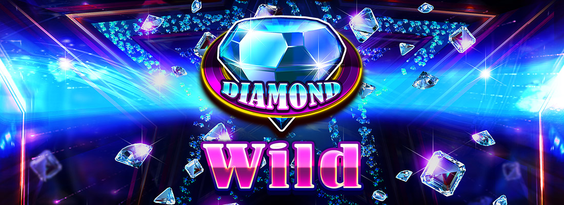 diamond wild slot game banner
