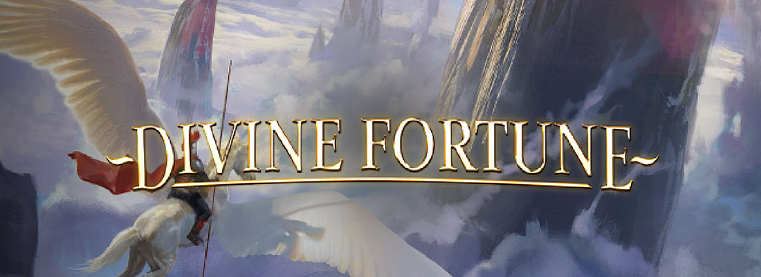 divine fortune slot game banner