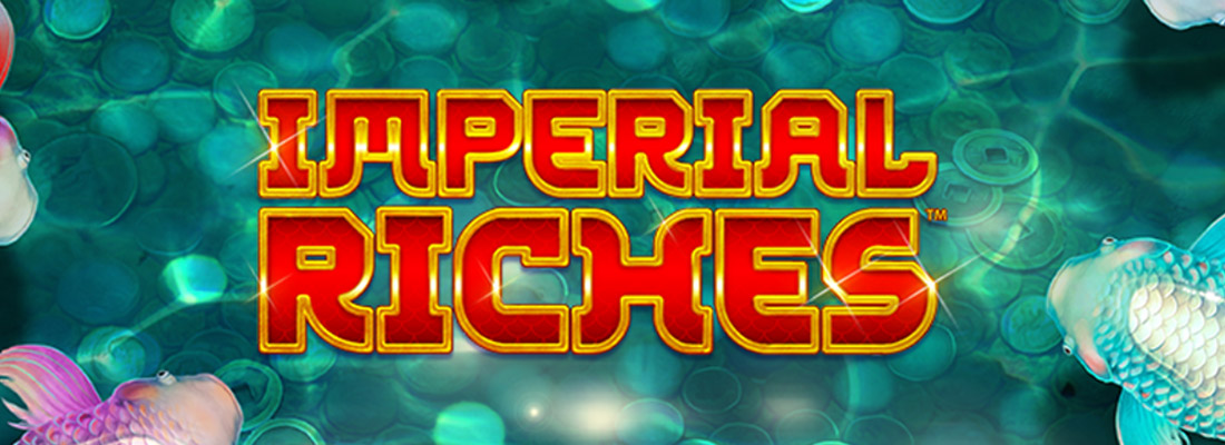 imperial riches slot game banner