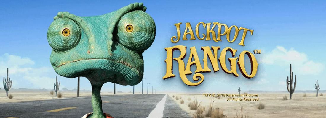 jackpot rango slot game banner