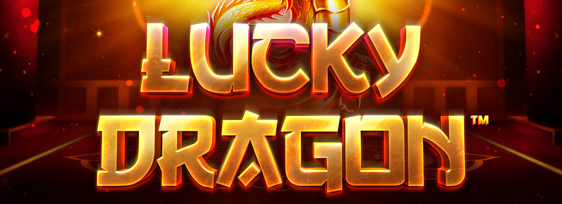 lucky dragon slot game banner