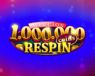million coins respins slot game