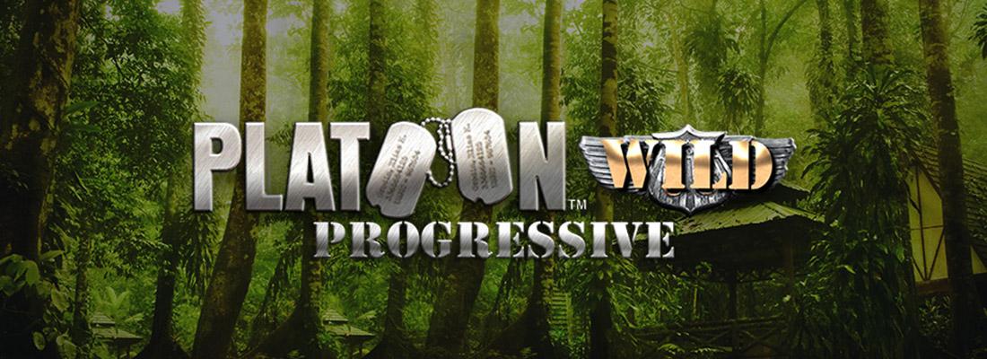 platoon wild progressive slot game banner