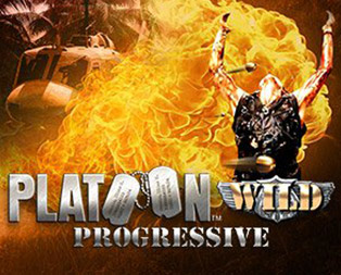 platoon wild progressive slot game