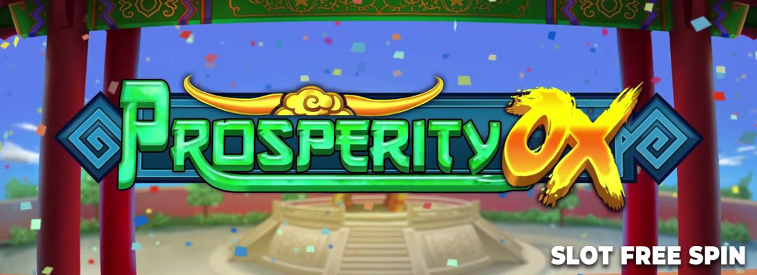 prosperity ox slot game banner