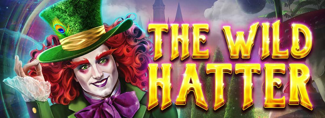 the wild hatter slot game banner