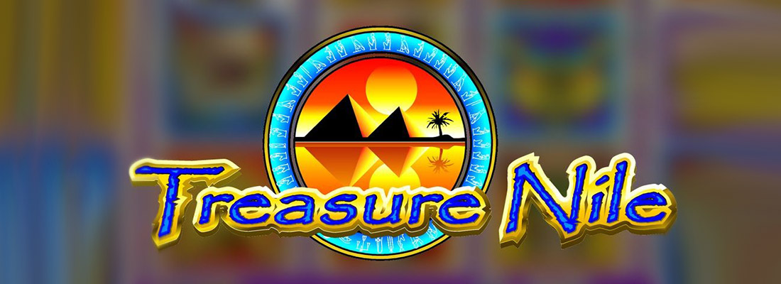 treasure nile slot game banner