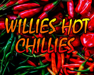 willies hot chillies slot game
