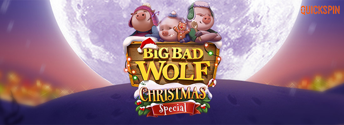 Big Bad Wolf Christmas Special Slot Banner