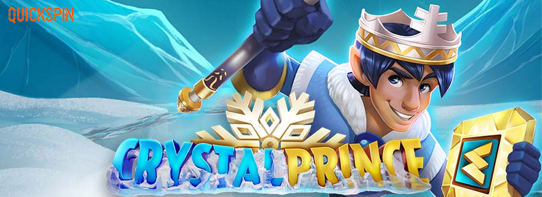 Crystal princer slot banner and cystal prince free spins