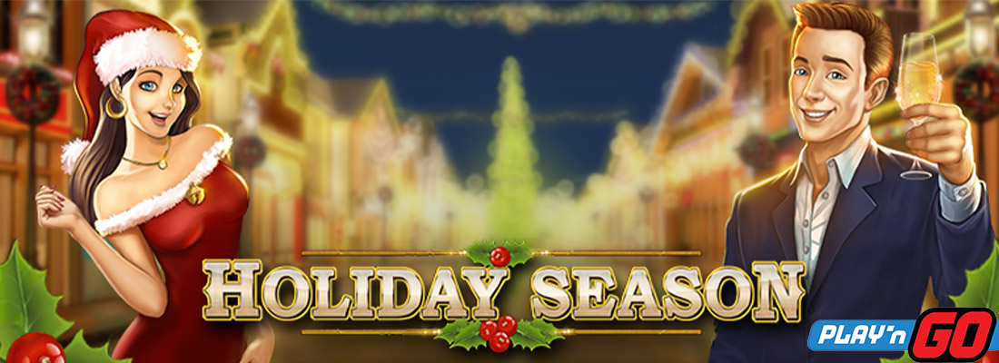 Holiday season slot banner