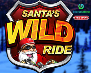 Santa's Wild Ride Slot by Microgaming and Santa's Wild Ride free spins