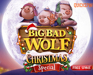 Big Bad wolf Christmas special slot with free spins