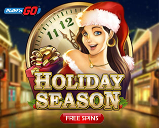 Holiday Season slot and Holiday season free spins