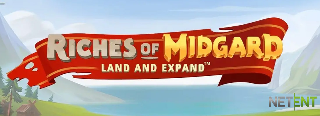 Riches of Midgard slot banner