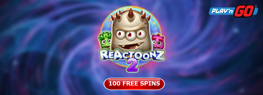 Reactoonz 2 slot and offers for free spins on Reactoonz 2 slot game