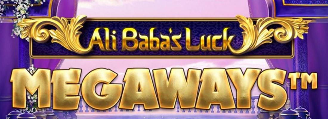 Ali Baba's Luck Megaways Slot Banner