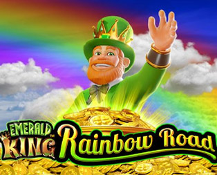 Emerald King Rainbow Road Slot and free spins for Emerald King Rainbow Road Slot