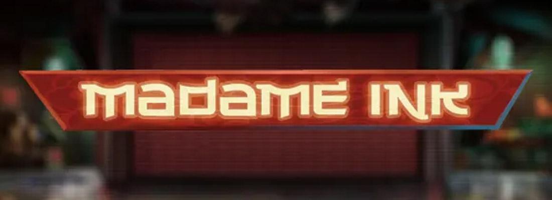 Madame Ink Slot Banner