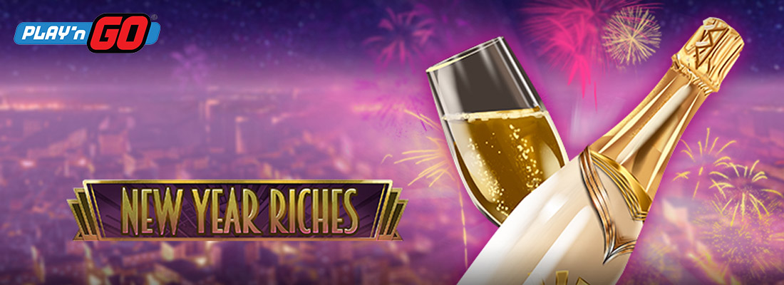 New Year Riches slot game banner