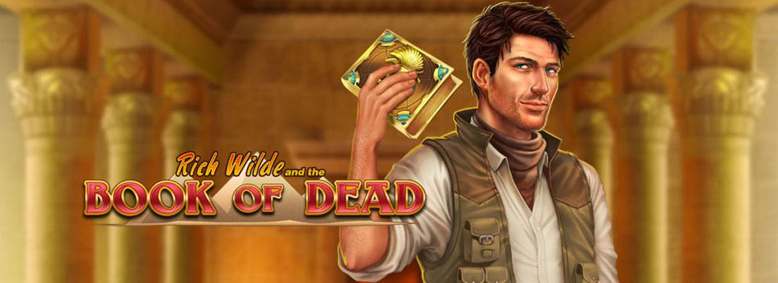 Book of dead slot banner