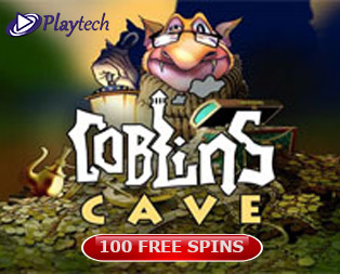 Goblins Cave slot and free spins offered for Goblin's Cave slot