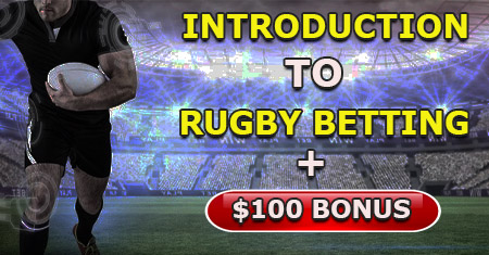 Rugby Betting welcome bonus