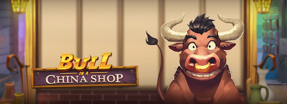 Bull in a China Shop Slot Banner