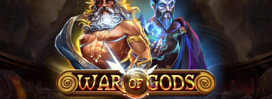 War of Gods slot banner