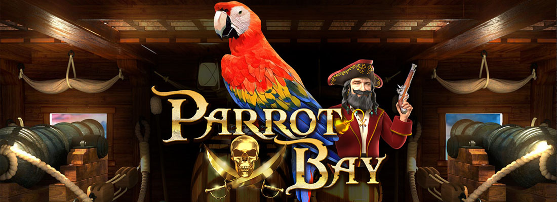 Parrot Bay slot banner