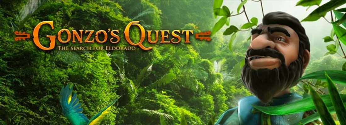 Gonzo's Quest Slot Banner