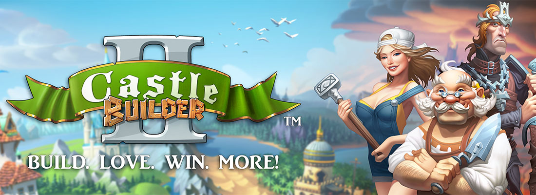 Castle Builder II slot banner