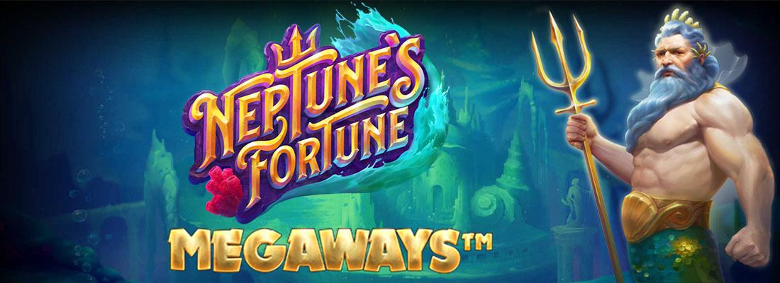 Neptune's Fortune Megaways Slot Banner