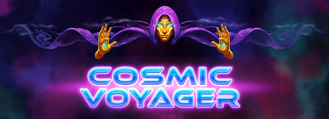Cosmic Voyager Slot Banner