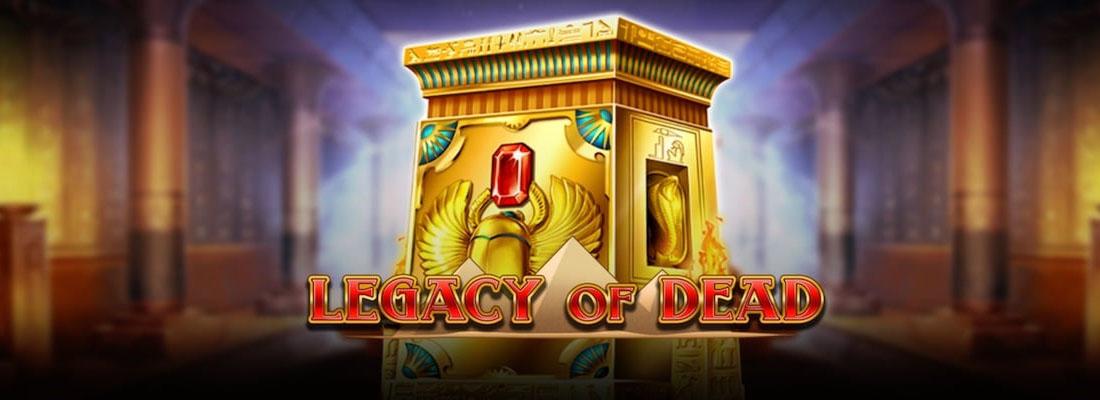 Legacy of Dead Slot Banner