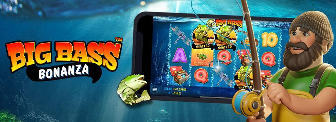 Big Bass Bonanza slot banner