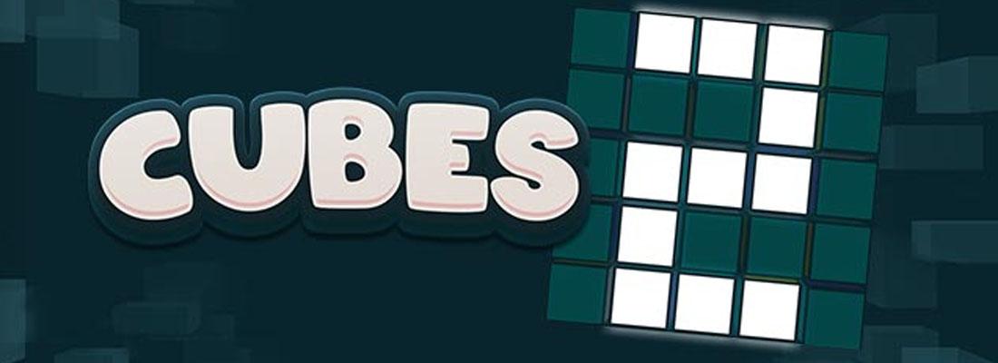 Cubes 2 slot banner