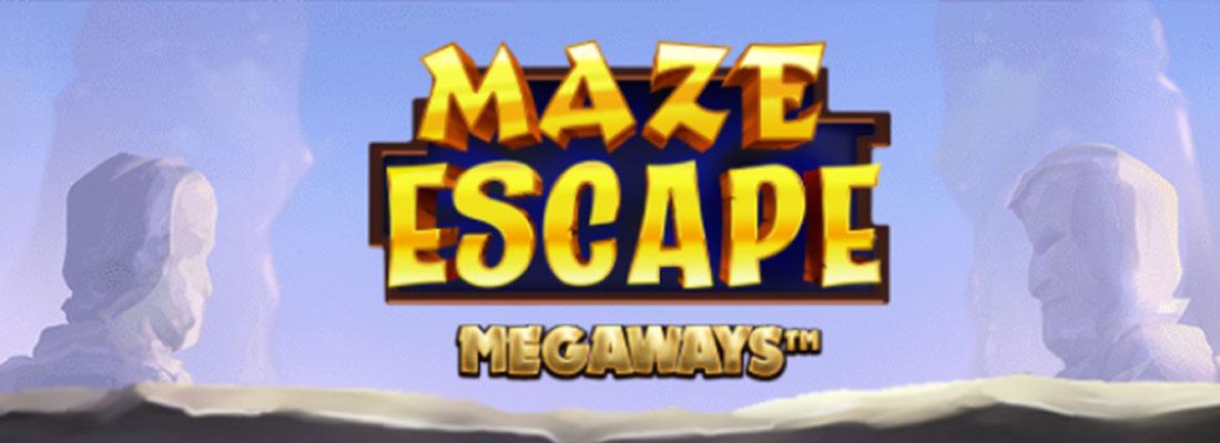 Maze Escape Megaways Slot Banner