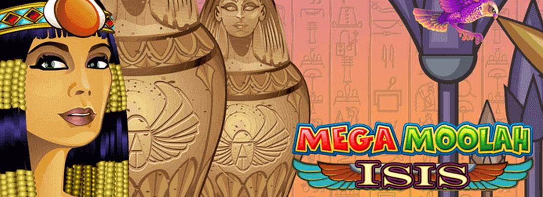 Mega Moolah Goddess Slot Banner