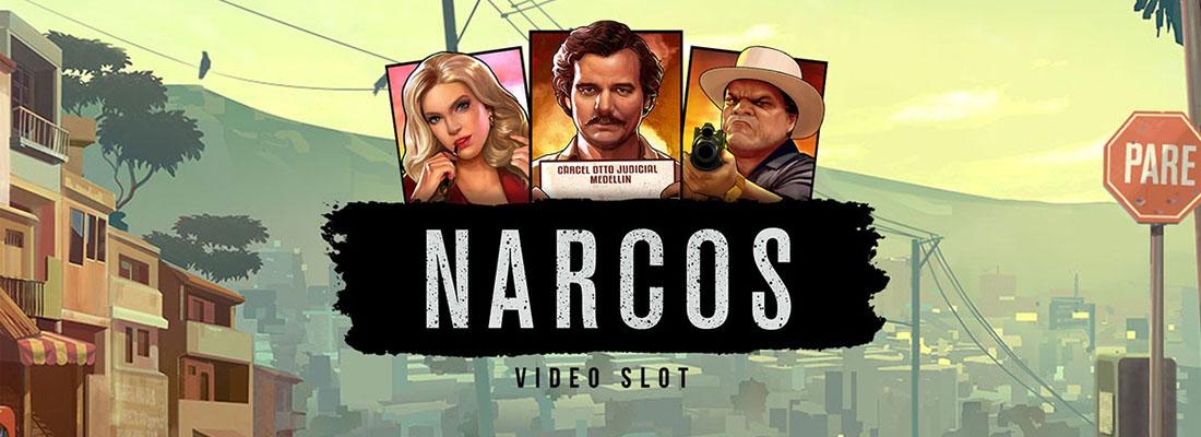 Narcos slot banner