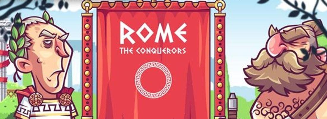 Rome The Conquerors slot banner