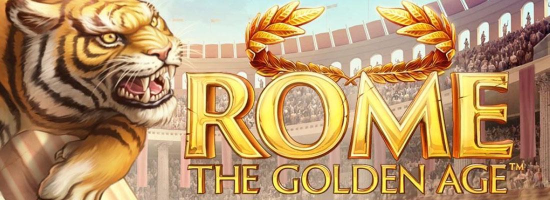 Rome the Golden Age Slot Banner