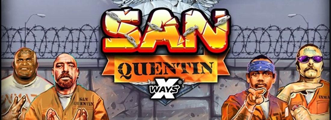 San Quentin X ways slot banner