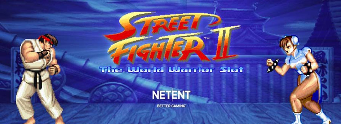Street Fighter II The World Warrior Slot Banner