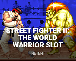 Street Fighter II The World Warrior Slot